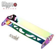 dyno racing -  Neo Chrome adjustable rotating number plate auto License plate frame license plate holder