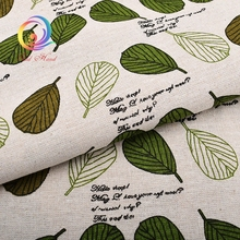 Printed Cotton Linen Fabric DIY Sofa For Patchwork Quilting Sewing Table Cloth Furniture Cover Tissue Curtain Bag Cushion Fabric