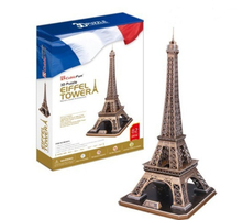Development of intelligence,Educational toys,good quality,foam,emulational,gifts,LED lights,model,The Eiffel Tower,3D PUZZLE(China)