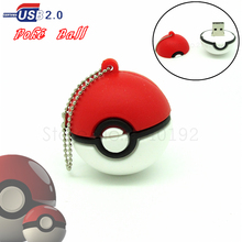new design cartoon Poke Ball usb flash drive cute Pokemon Model Pocket Monster pen drive u disk memory stick hot gift 4GB-32GB