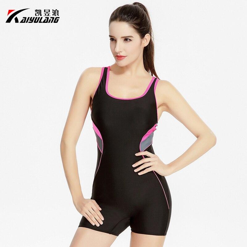 2017 High Quality Professional Sports Swimwear Women One Piece Swimsuit Quick Dry Slimming Bodysuit Elastic Female Monokini Suit<br>
