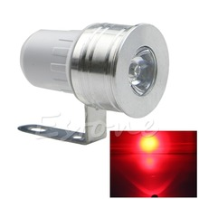 12V Red LED Day Spot Light RED Motorcycle Car Truck Van bike boat Off Road
