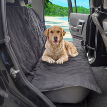 Manufacturer Wholesale Customized Quilted Suede Fabric Nonslip Dog Car Seat Cover Pet Accessories Mat Back Seat Protector
