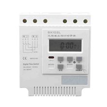 3*380VAC,3*16A Three-phase Current Countdown Timer Switch,Timer Controller,LCD Display Three Phase Current Digital Time Switch