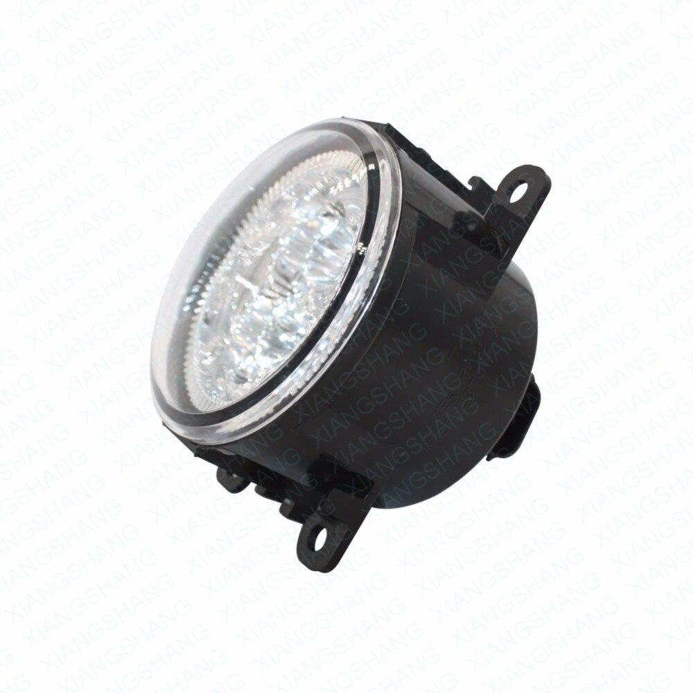 LED Front Fog Lights For JAGUAR X-TYPE Estate 2003-2007 2008 2009 Car Styling Bumper High Brightness DRL Driving fog lamps 1set<br>