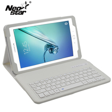 "Bluetooth Keyboard Case For Samsung Galaxy Tab A 10.1 2016 T580 T585 T580N T585N 10.1""tablet With Screen Protector + Stylus Pen"