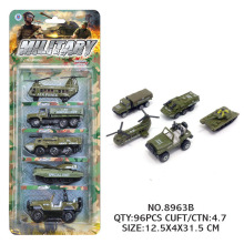5pcs/lot Children's Alloy Toy Military Vehicle Blister Packaging 1:64 Scale Sliding Model Tank Anti-riot Models Car-styling