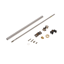 FT011-12 Steel Tube Pipe Assembly Metal Shaft Spare Parts for Feilun FT011 RC Boat Ship Speedboat Electronic Accessories(China)