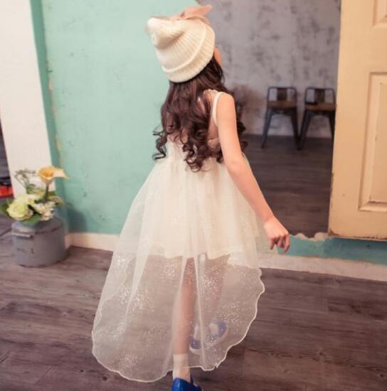 Beautiful Swallowtail Dresses For Girls Princess Mesh Sundress Vestidos Nina Summer Cool Carnival Costumes For Children <br><br>Aliexpress