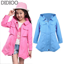 children jackets for girls coat autumn & spring fashion kids clothes baby outwear for child brand top outfits 4 6 8 10 12 years