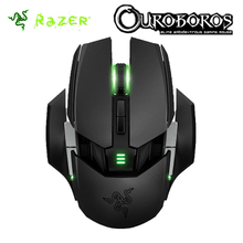 Razer Ouroboros Elite Ambidextrous Wired or Wireless Gaming Mouse 8200 DPI 4G Laser Sensor Game Mice Gamer Computer Peripherals(China)