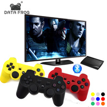 Data Frog Wireless Bluetooth Gamepad Joystick For Sony Playstation 3 Game Controller For PC Gamepads For PS3 Console(China)