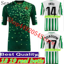 SexeMara for 2018 2019 Real Betis adult BARTRA JOAQUIN shirt. 2018 2019 New Leisure Best Quality Real Betis shirt Casual S-2XL  (China)