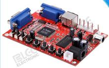 VGA to RGBS converter board, VGA to CGA red board, high to low conversion plate Console signal converter