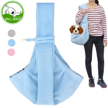 Small Dog Cat Sling Carrier Bag Travel Tote Soft Cotton Puppy Kitty Rabbit Double-sided Pouch Shoulder Carry Tote Handbag