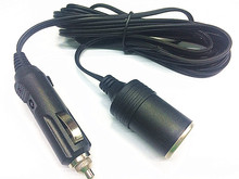 CAR CHARGER 3M EXTENSION CAR CIGARETTE CIGAR CABLE LIGHTER SOCKET LEAD CORD ADAPTER 12V New
