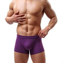 Buy New Sexy Men's Underwear Men's Briefs Shorts Bulge Pouch soft Underpants Antibacterial Men Briefs Fashion Comfortable Cuecas