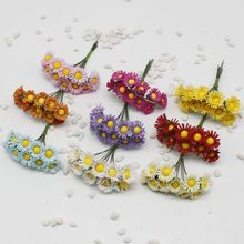10 pcs / lot sunflowers artificial flowers artificial flowers simulation flowers small daisy flower sunflower garland diy materi