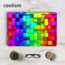 Rainbow 3D Diamonds Full Body Cover Skin for Macbook Sticker Pro Air Retina 11 12 13 15.6 inch Mac Mi Surface Book Laptop Decal