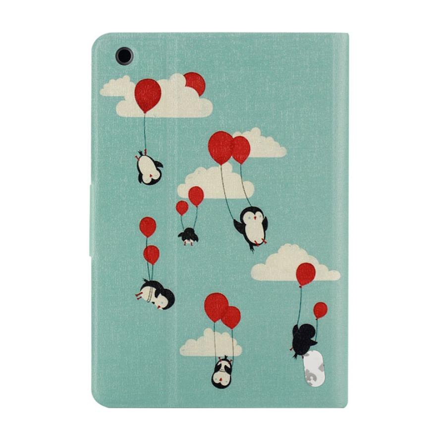 Del Penguin Painted Stand Leather Case Cover for ipad mini 1/2/3 Retina Mar14<br><br>Aliexpress