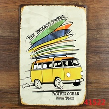 ENDLESS SUMMER BUS Vintage PUB Tin Sign Home Room Decor Wall Painting 20*30 CM A-41522