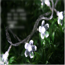 10M 80 LED Christmas String Lights Cherry Blossom Flowers LED Lamps fairy lights for Wedding party Garland Outdoor Decoration