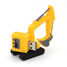 Cool Excavator USB Flash Drive 16G Pen Drive Kids Gift 8GB Pendrive 4GB External Storage 64GB U Disk 32GB(China)