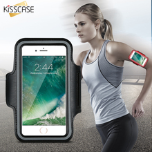 KISSCASE Sport Case For iPhone 6 6S Plus Waterproof Running GYM Leather Belt Arm Band For Apple iPhone 6 6S Plus 4.7 & 5.5 inch