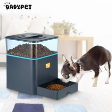 Automatic LCD Pet Feeder with Voice Reminding and Timer Programmable 4.5L Pet Dry Food Dispenser Dish Bowl 1-3 Meal/Day