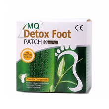 120 Piece=60pcs Patches+60 pcs MQ Beauty Slimming Patch Adhesives Detox Foot Patch Bamboo Vinegar Pads Improve Sleep Slim Gift(China)