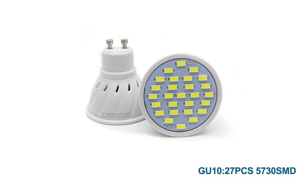 led bulb 27 5730 GU10