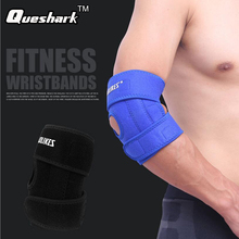 Professional 1 PC Adjustable Neoprene Elbow Support Wrap Brace Sports Gym Injury Pain Protect Winding Tape 2 Springs(China)