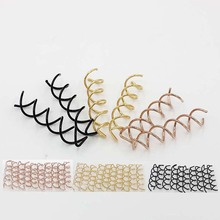 10 pcs 1set Spiral Spin Screw Pin Hair Clip Twist Barrette /Brown Black Factory outlets