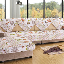 Cheap Cotton Sofa Towel Covers Sets 3-seats Cloth for Sofa Slipcovers Cover Sofa