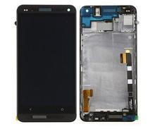 Lcd Display+Touch Digitizer Glass Screen +black/silver color front frame for Htc one m7 802D 802D 802W Dual Sim version assembly