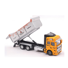 18Cm Diecast Model Buses Toy Garbage Truck Autorama Brinquedo Eco-friendly Car Transport Vehicle Model Toy Gift For Boy Children