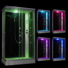 70X100CM Left Head Shower Bluetooth Cabin Room Cubicle Enclosure Bath NO Steam bath douche Bathroom  Jett Massage A700/1000L