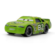 Pixar Cars No.82 Shiny Wax Metal Diecast Alloy Metal Toy Car 1:55 Loose new brand McQueen Racing Car Model Toy For Kid(China)