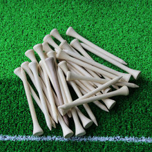 2017 Brand New Free Shipping 50pcs/lot 83mm Golf Ball Wood Tees Wooden Golf Accessories Wholesale
