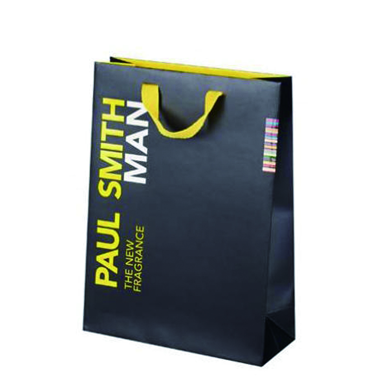 Luxury Paper Bags - Luxury Paper Bags With Ribbon Handle Manufacturer