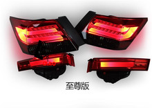 car -styling LED Tail Lights For Accord Sedan 4-Door 2008-2013 led tail lamp