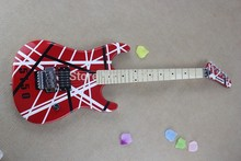 Wholesale - New Brand arrival guitar kramer 5150 RED and white EVH series ARI tremolo Electric guitar  in stock   150604