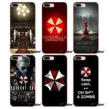 Для Samsung Galaxy S2 S3 S4 S5 MINI S6 S7 S8 S9 края Плюс примечание 2 3 4 5 8 Коке Fundas resident evil umbrella corporatio ТПУ Случае(China)