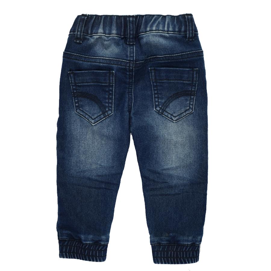 HSIN1609004-2Infant Baby Boy&Girl Denim Jeans Pants Newborn Bebe Soft Harem Pants Toddler Kid Stretch Jeans Solid Trousers Children Clothing