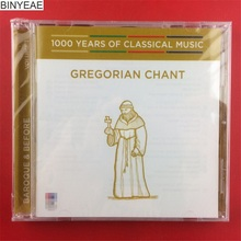 BINYEAE- new 1000 Years of Classical Music Gregorian Chant Australia CD [free shipping](China)