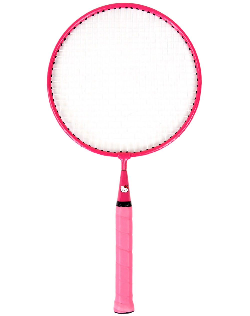 HELLO KITTY Badminton Rackets Sports cheap Kids Cartoon racket Set Training children 44cm fit 3-12 years old Badminton Rackets (3)