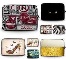 "Personality Design 9.7""10""12""13""14""15""17""15.6 17.3 inch laptop bag tablet computer bag neoprene sleeve netbook For computer Case"