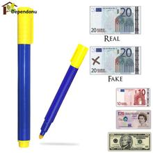 1PC/3PCS/5PCS Banknotes Detector Counterfeit Fake Forged Money Bank Note Checker Detector Tester Marker Pens(China)