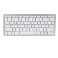 Black/White Ultra-slim Bluetooth 3.0 Keyboard Wireless Tablet Keyboard for Apple iPad Air iPad Pro(China)