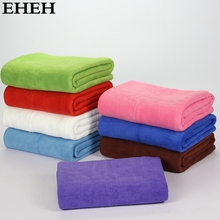 EHEH New Microfiber Bath Towel 70*140cm Solid Large Beach Towel 8 Color Available Quality Quick Dry Towels For Bathroom EH009